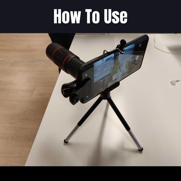 how to use starscope monocular