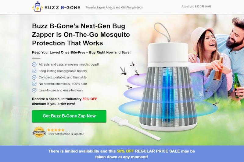 what is buzz b gone zap
