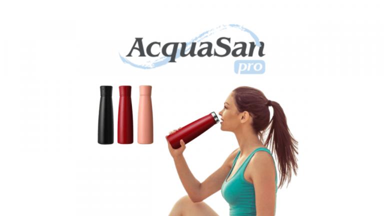 ACQUASAN PRO REVIEW-Smart Water Sanitizer Bottle