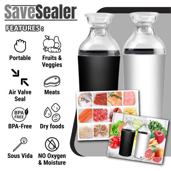SaveSealer Features